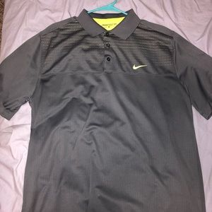 Nike Golf Polo - Gray XL